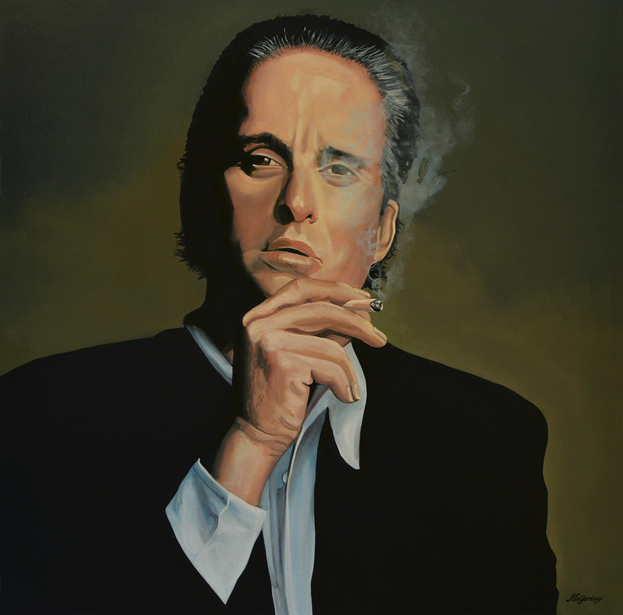 Michael Douglas Painting
