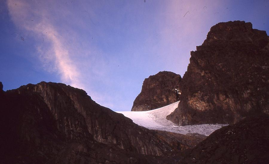 Mountains Photograph -  Mountains Of The Moon Africa 1997 by Rolf Ashby