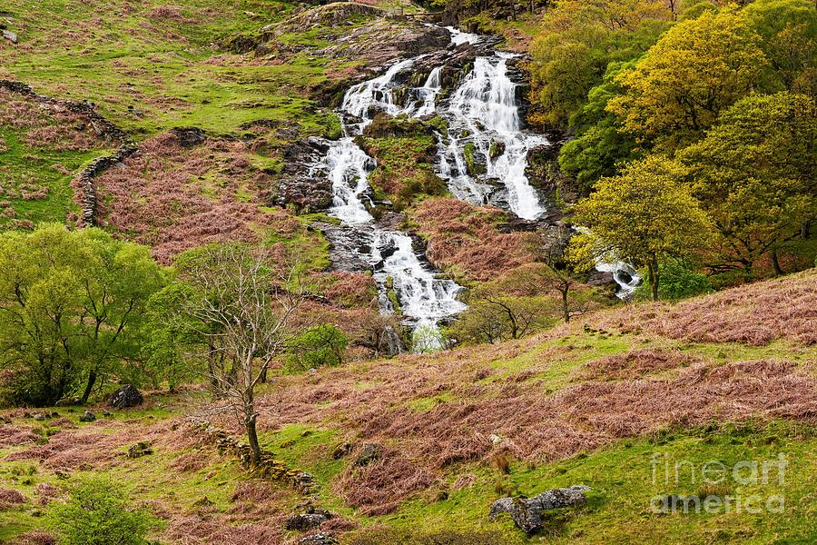 Nant Gwynant Waterfalls IIi Photograph