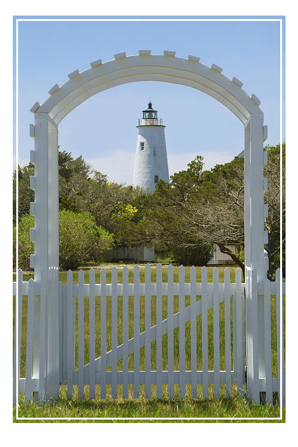 Ocracoke Island Lighthouse Photograph  -  Ocracoke Island Lighthouse Fine Art Print