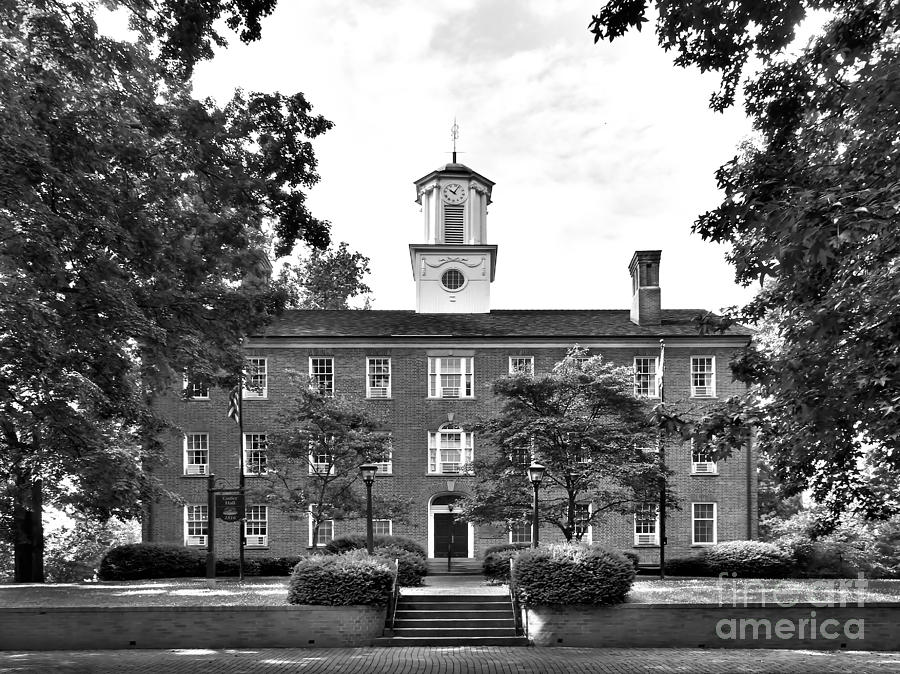 Ohio University Cutler Hall Photograph