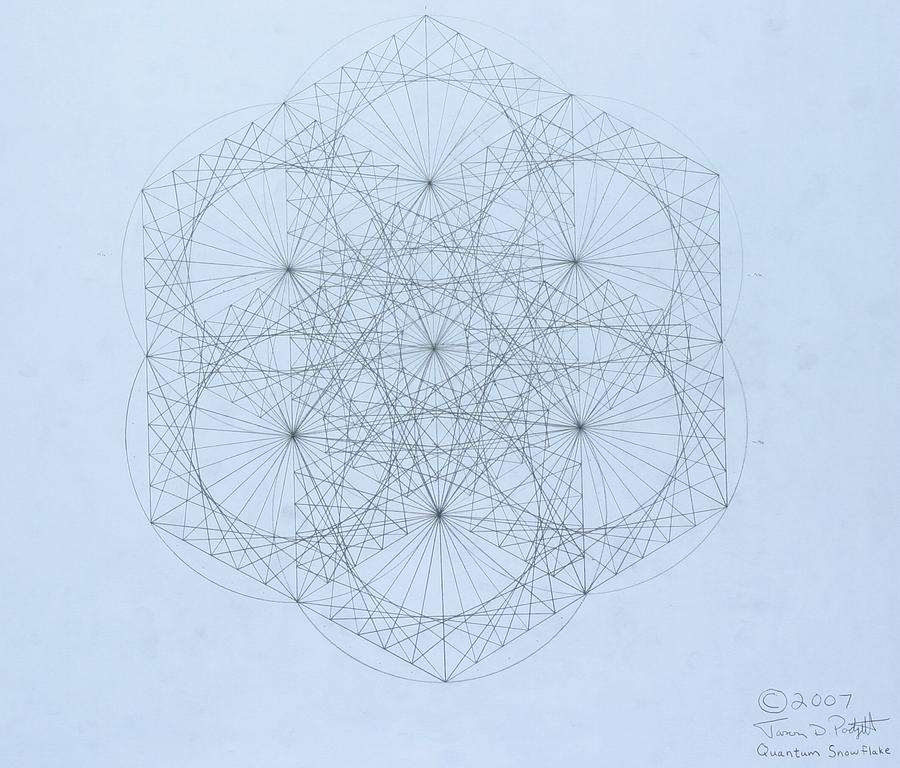 Quantum Snowflake Drawing