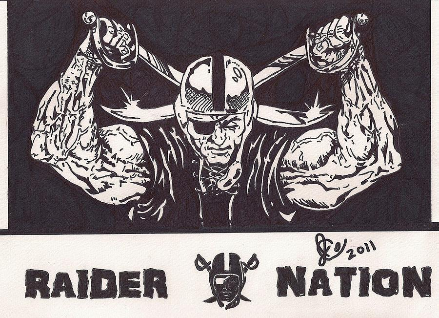 Raider Nation Lyrics Raiders Nation Art