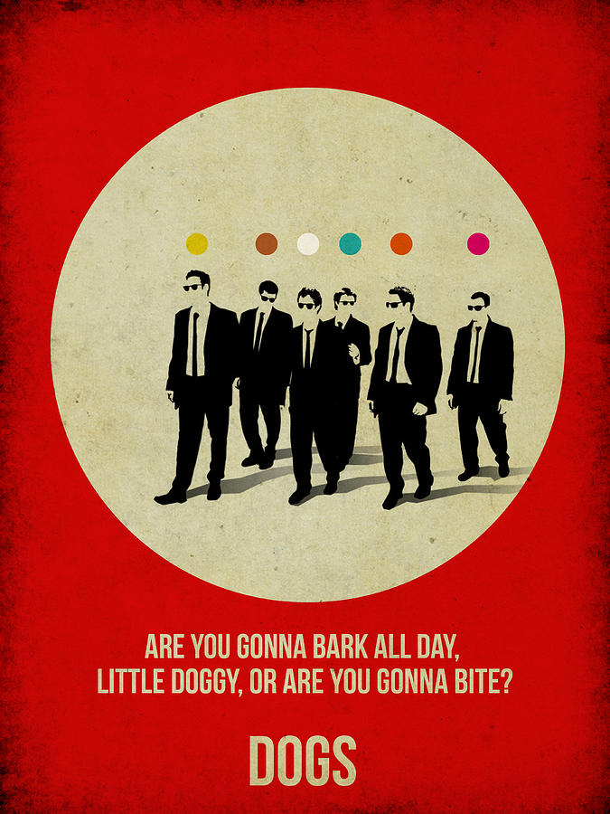 Painting -  Reservoir Dogs Poster by Naxart Studio