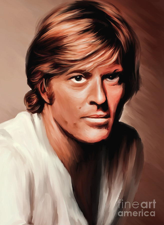 Robert Redford Painting