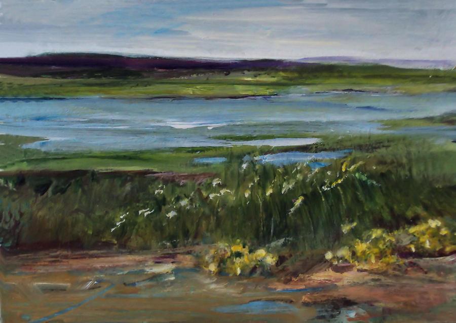Salt Marsh Painting