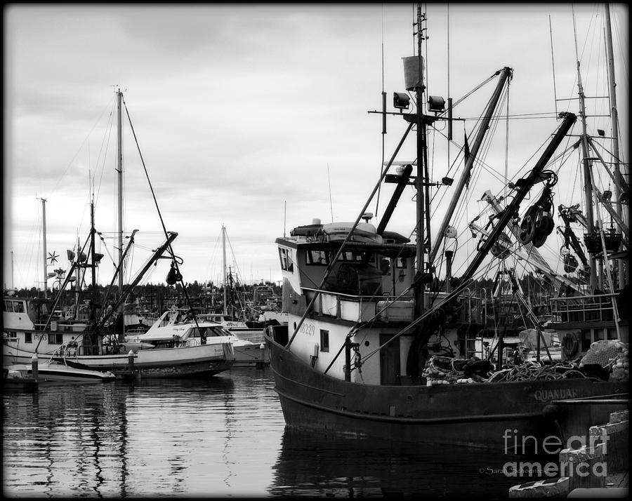 Seattle Fishing Boats Photograph By Sarah Schoenfeld