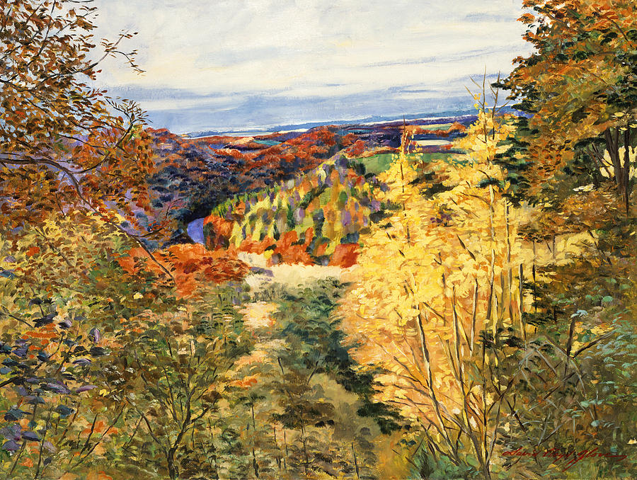 September In Bordeaux Painting