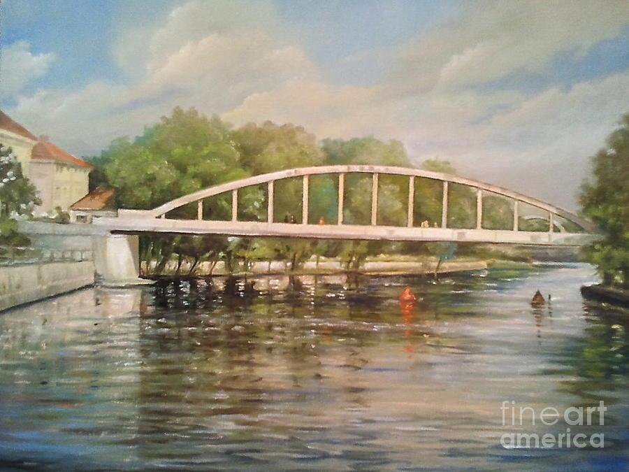 Tartu Arch Bridge Painting