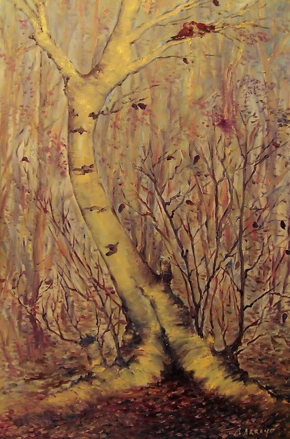 The  Loving  Tree Painting -  The  Loving  Tree by Beth Arroyo