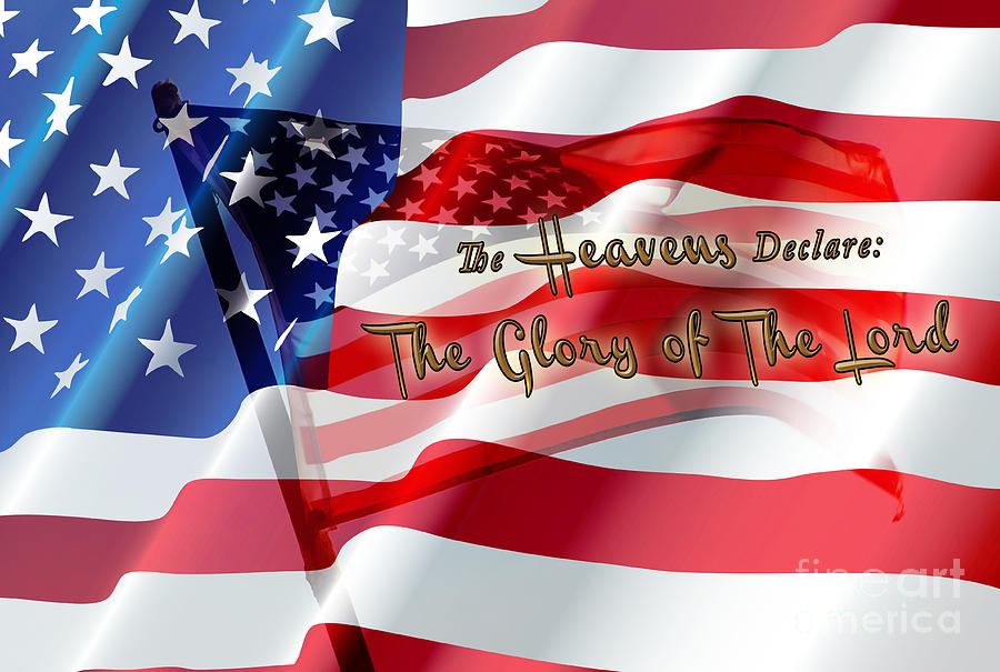 Flag Photograph Photograph -  The Stars And Stripes by Beverly Guilliams