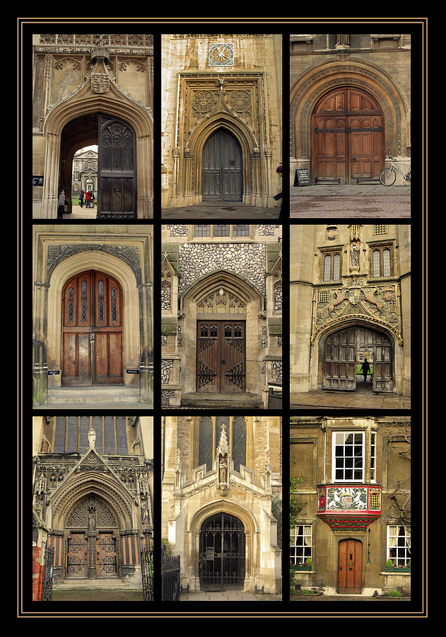 Uk Doors Photograph  -  Uk Doors Fine Art Print
