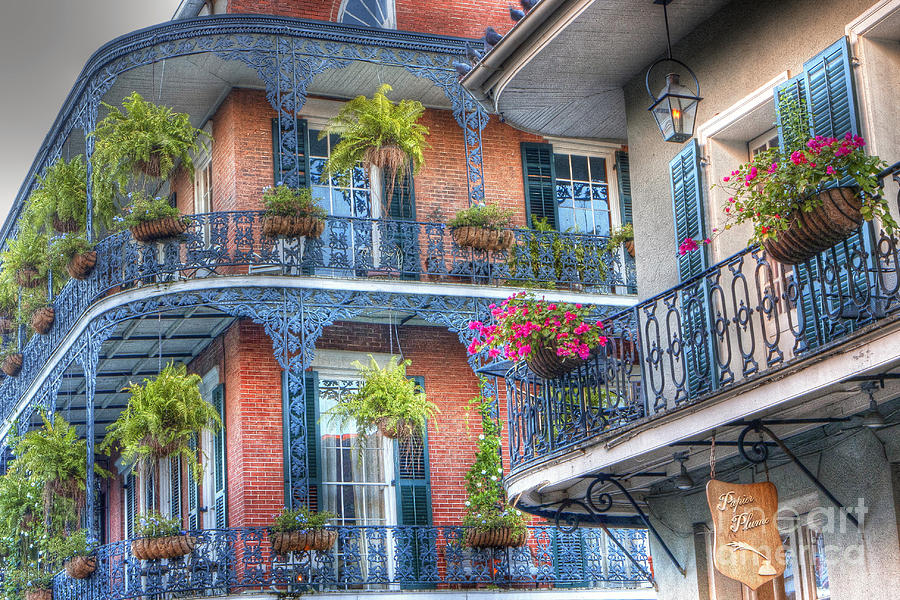 0255 Balconies - New Orleans Photograph