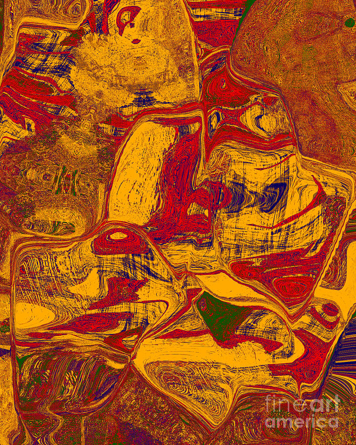 Abstract Digital Art - 0518 Abstract Thought by Chowdary V Arikatla