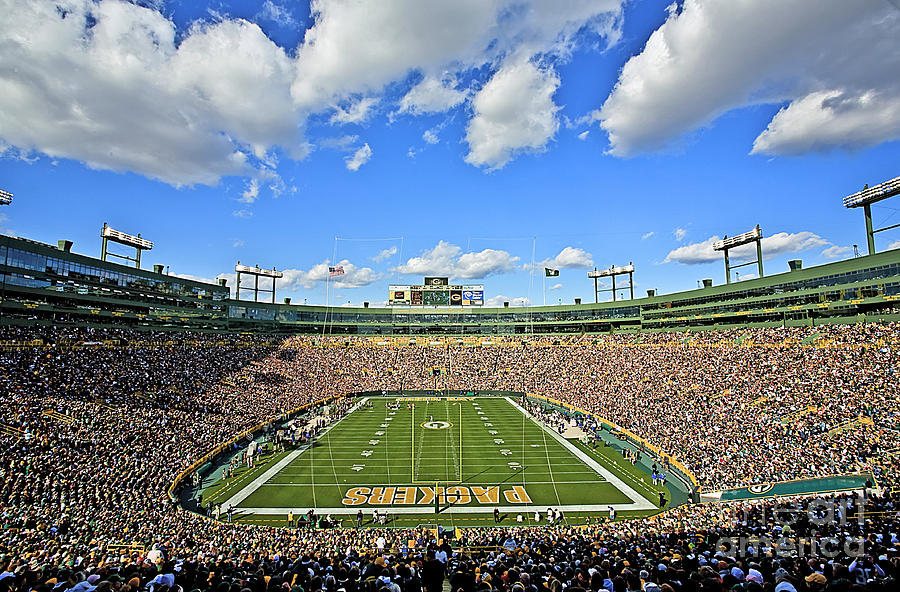 0538 Lambeau Field  Photograph