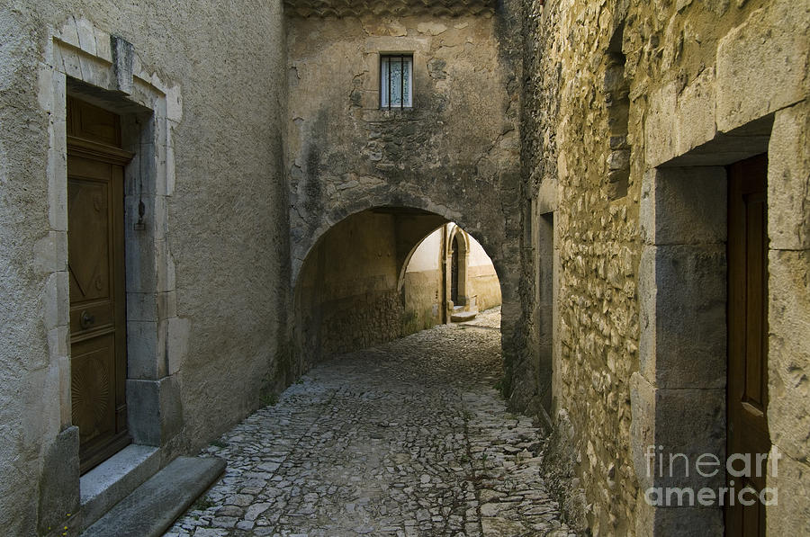 Alley Photograph - 080720p012 by Arterra Picture Library