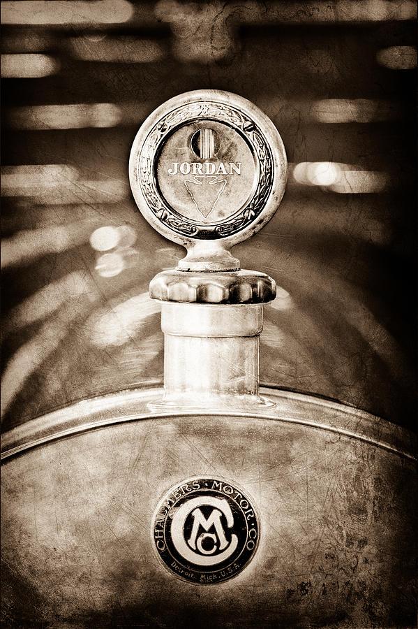 1913 Chalmers Model 18 Jordan Motometer Photograph