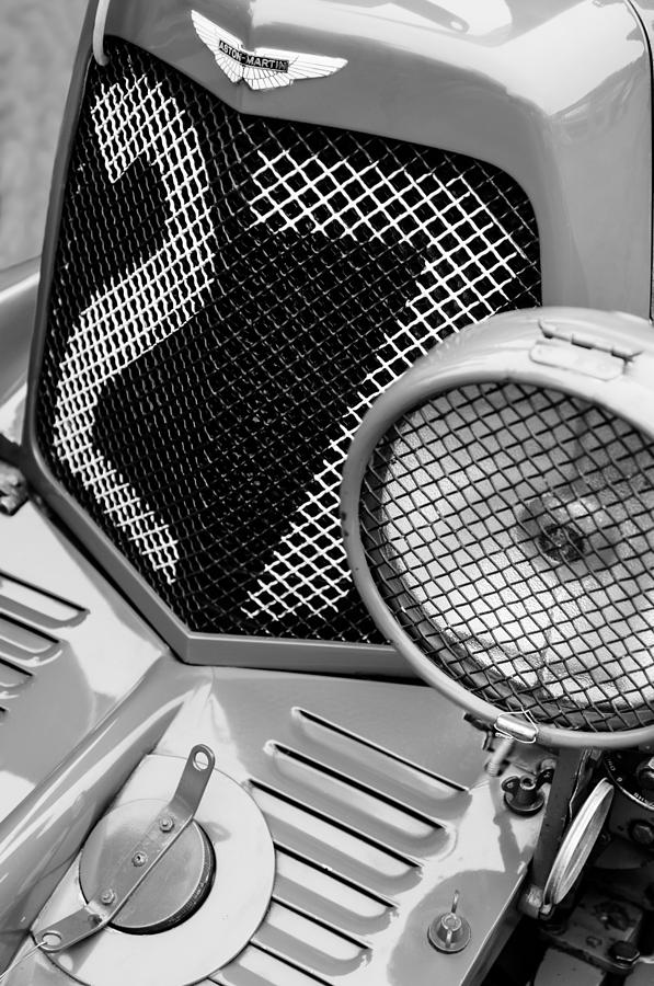 1935 Aston Martin Ulster Race Car Grille Photograph