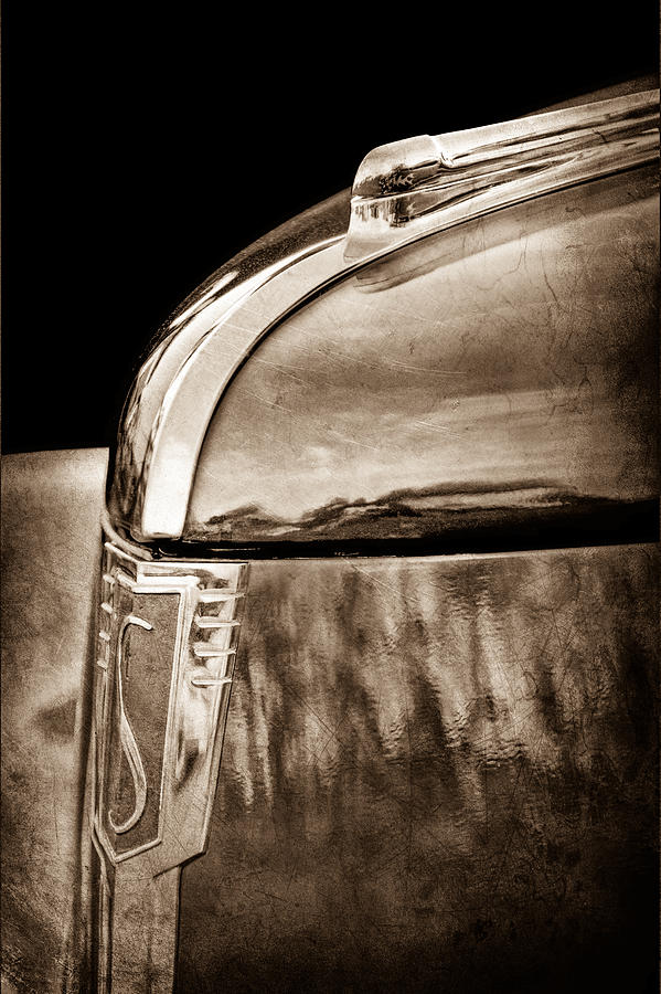 1939 Studebaker Commander Hood Ornament Photograph