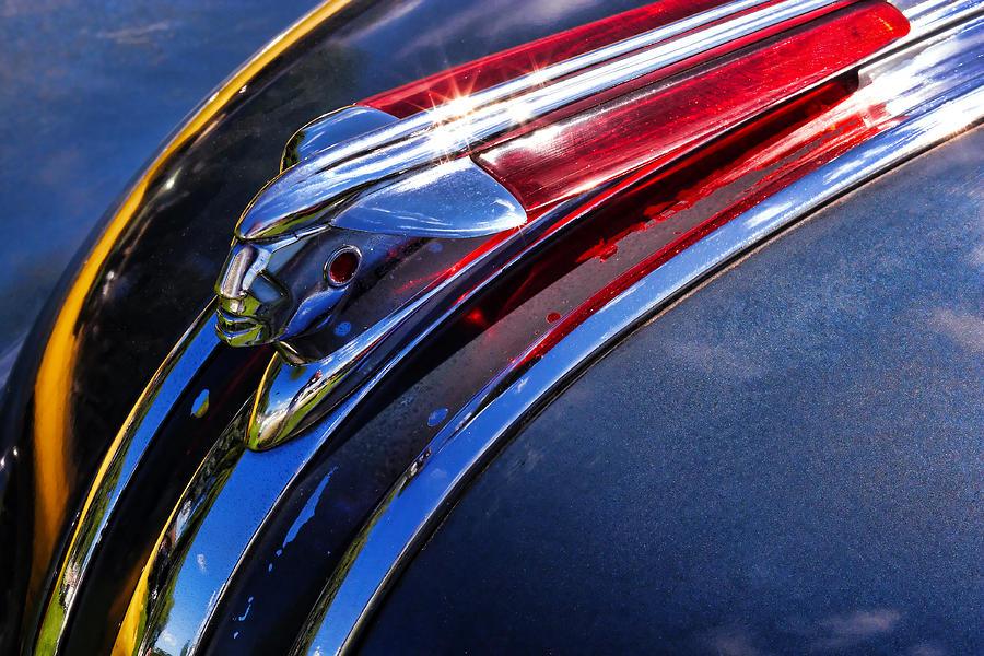 1948 Pontiac Silver Streak Hood Ornament Photograph