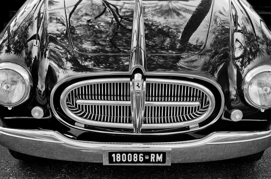 1952 Ferrari 212 Vignale Front End Photograph