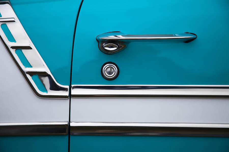 1956 Photograph - 1956 Chevrolet Bel Air by Carol Leigh