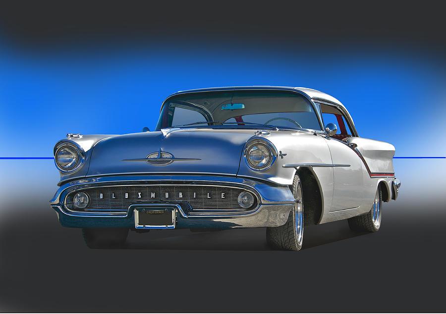 1957 Custom Oldsmobile Photograph