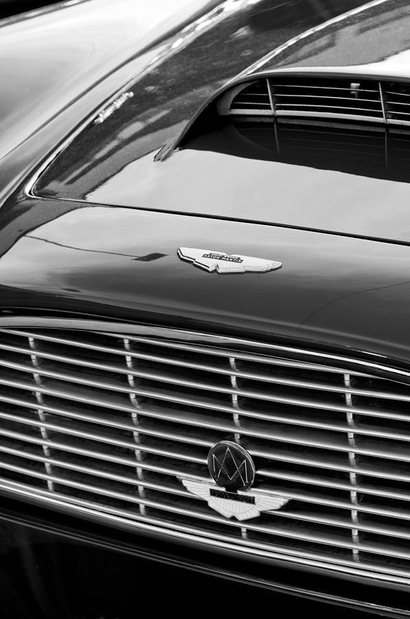 1960 Aston Martin Db4 Grille Emblem Photograph