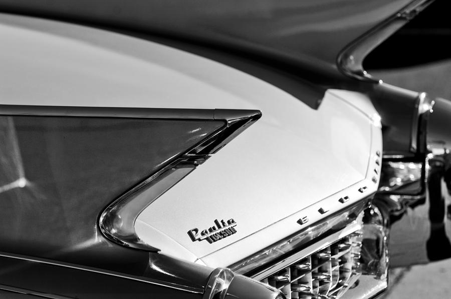 1960 Cadillac Eldorado Taillights Photograph