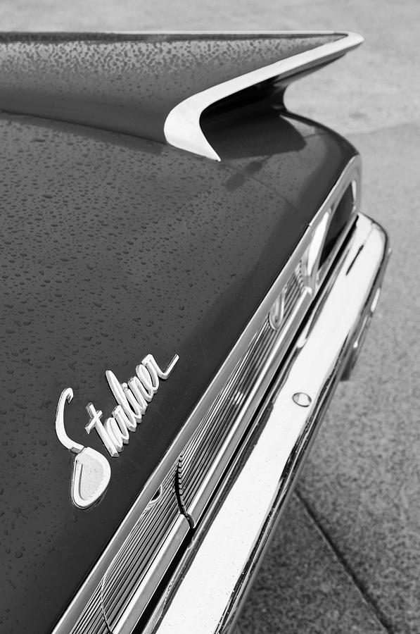 1960 Ford Galaxie Starliner Taillight Emblem Photograph