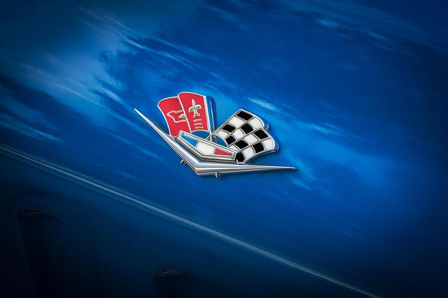 1966 Chevrolet Corvette Coupe Emblem Photograph