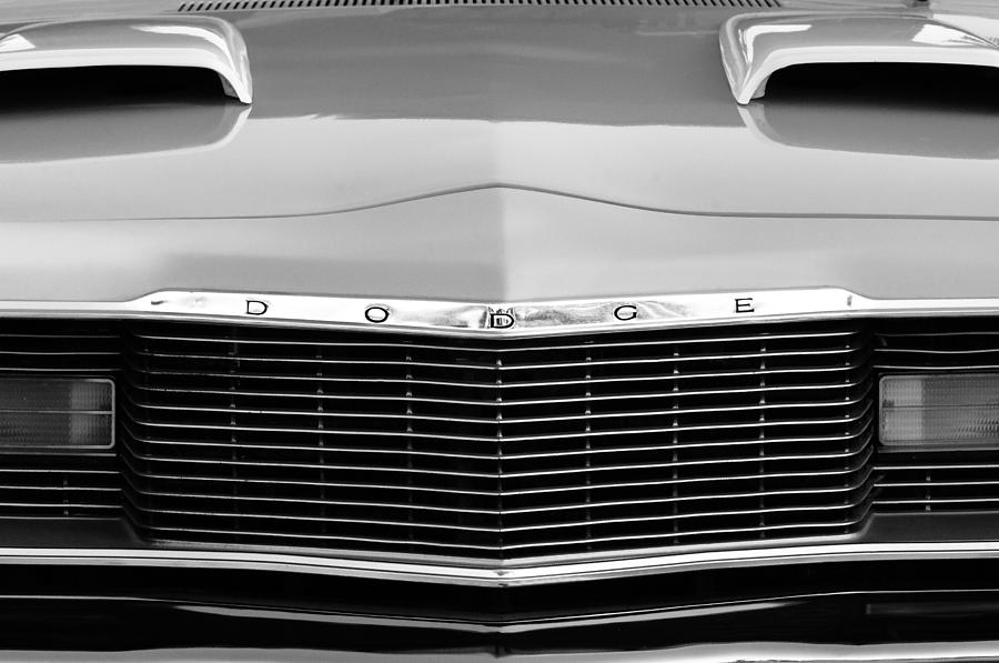 1975 Dodge Dart Swinger Grille Photograph