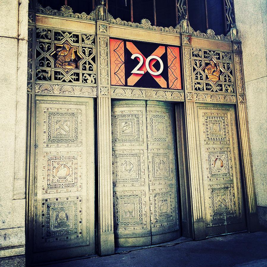 20 Exchange Place Art Deco Photograph