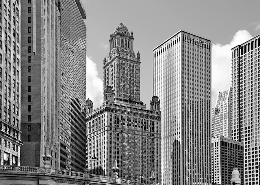 35 East Wacker Chicago - Jewelers Building Photograph
