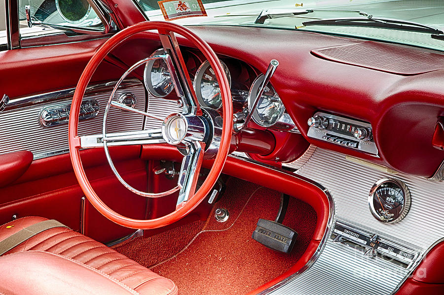 62 Thunderbird Interior Photograph