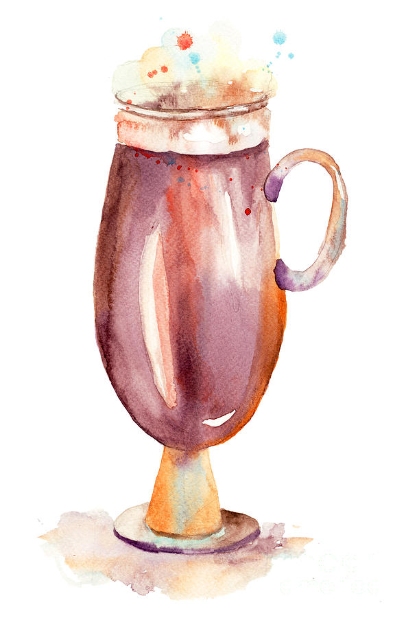 A Cup Of Coffee  Painting