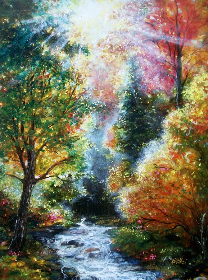Emery Frankin Painting - A Good Day by Emery Franklin
