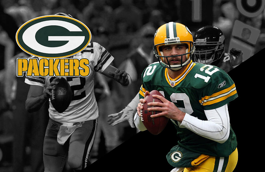 Aaron Rodgers Packers Photograph  - Aaron Rodgers Packers Fine Art Print