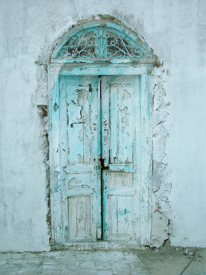 Abandoned Doorway Photograph