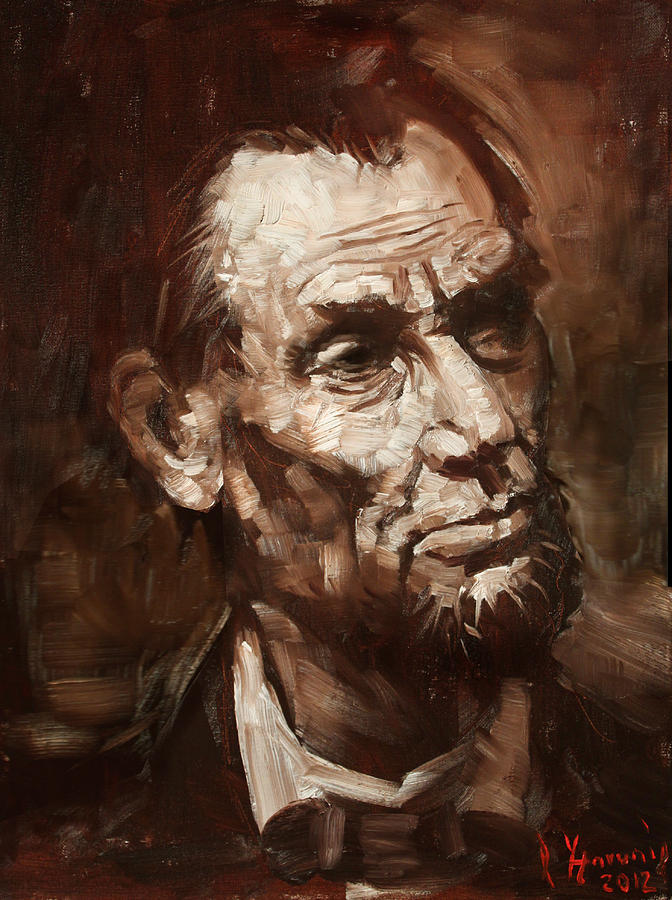 Abraham Lincoln Painting  - Abraham Lincoln Fine Art Print