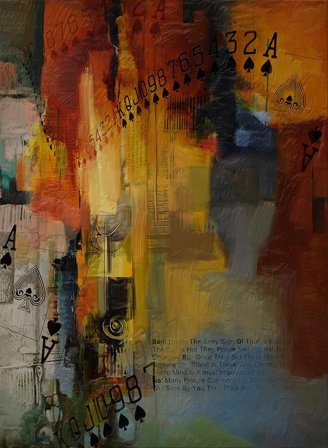 Abstract Tarot Art 013 Painting
