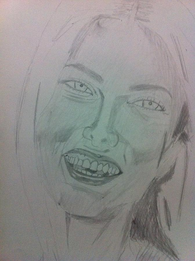 Adriana Lima Drawing