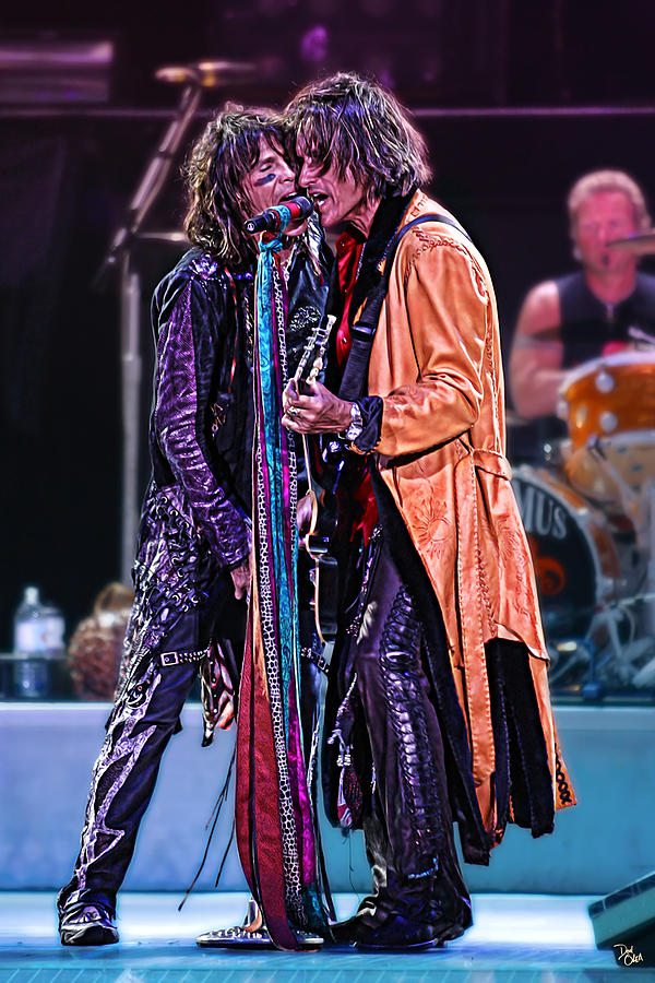 Steven Tyler Photograph - Aerosmith by Don Olea