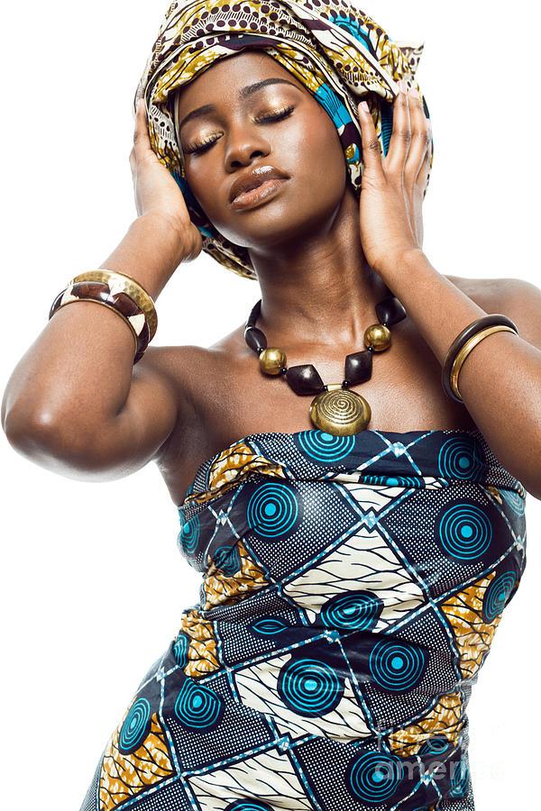 African Fashion Model Photograph By Yaromir Mlynski
