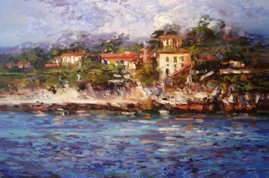 Afternoon Light In Cassis Painting