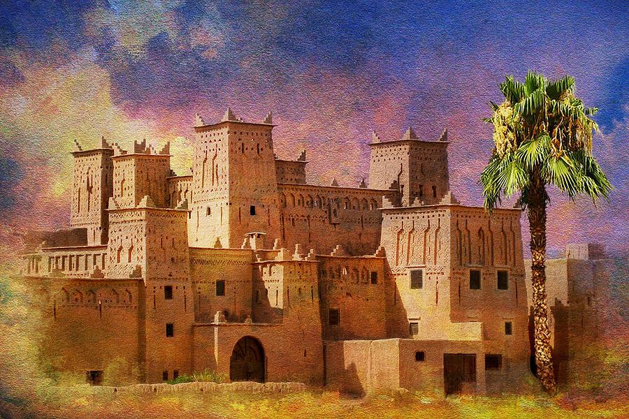 Ait Benhaddou  Painting