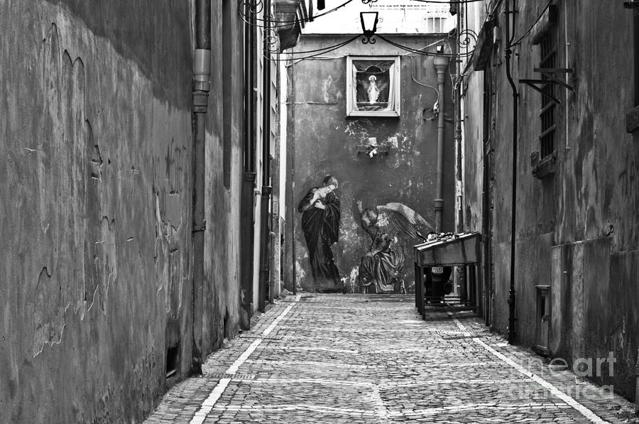 Naples Photograph - Alleyway by Marion Galt