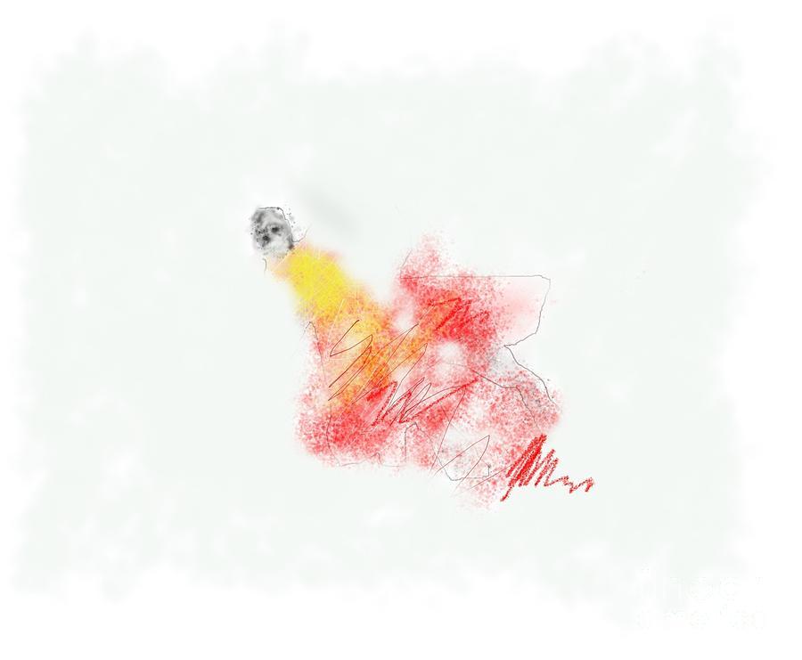 Digital Art - Alone by Ruth Clotworthy