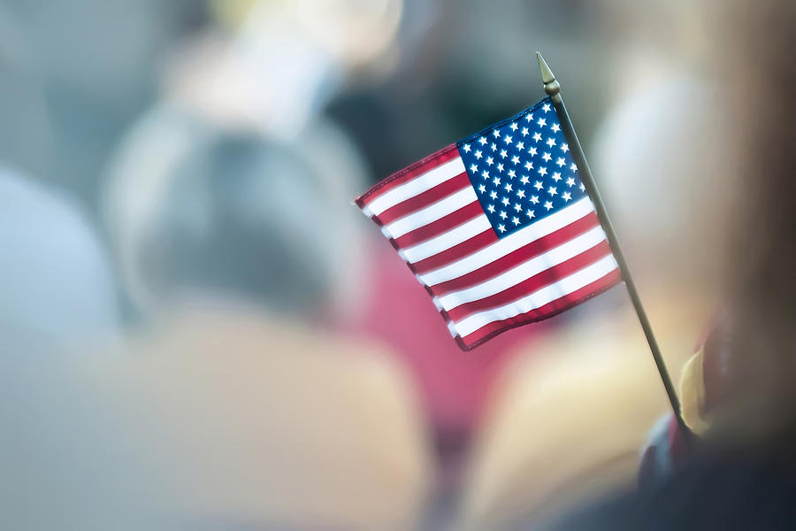 4th Photograph - American Flag by Alex Grichenko