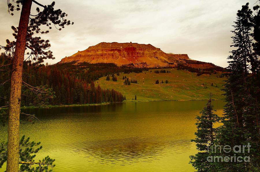 An Alpine Lake Photograph  - An Alpine Lake Fine Art Print